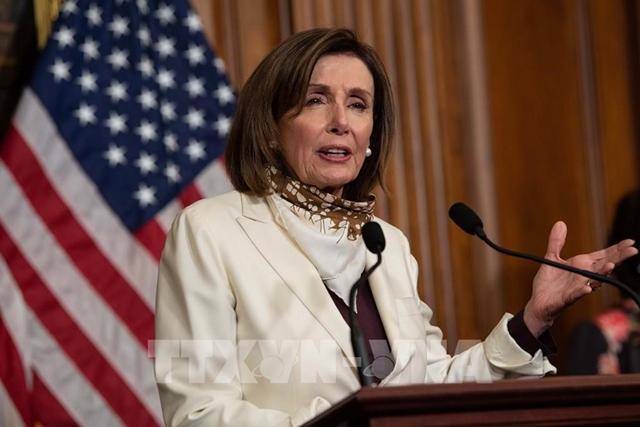 Chủ tịch Hạ viện Mỹ công bố thời hạn chót bỏ phiếu dự luật cơ sở hạ tầng
