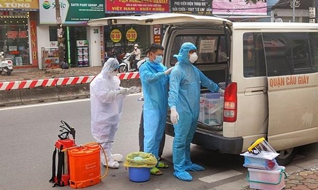 Thành phố Hà Nội ghi nhận thêm 7 trường hợp mắc Covid-19