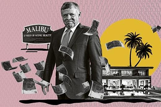 Quốc vương Jordan đã mua bao nhiêu căn nhà trên khối tài sản 100 triệu USD?