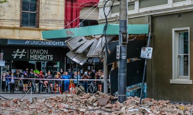 Cuộc biểu tình cuối cùng phải chấm dứt vì trận động đất 5,9 độ. Ảnh: Shutterstock.
