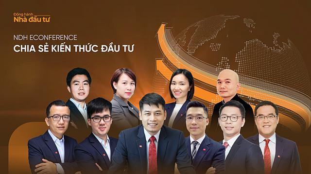 Chuỗi sự kiện có sự tham gia của các chuyên gia hàng đầu đến từ Chứng khoán SSI.