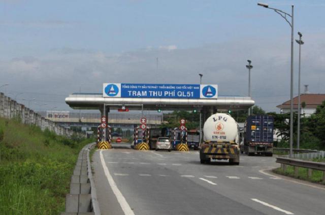 Từ 0h ngày mai, thu phí trở lại trạm QL51 trên cao tốc TP HCM - Long Thành - Dầu Giây.