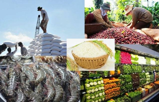 Xuất khẩu nông, lâm, thủy sản tăng gần 18% trong 9 tháng
