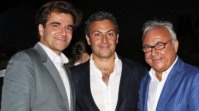 Saman (trái), Cyrus (giữa) và Ata Ahsani (phải). Ảnh: Sydney Morning Herald.