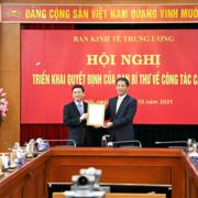 Phó Bí thư Hưng Yên làm Phó Trưởng Ban Kinh tế Trung ương
