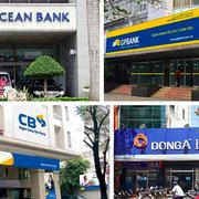 Số phận 4 ngân hàng trong diện tái cơ cấu đặc biệt hiện như thế nào?