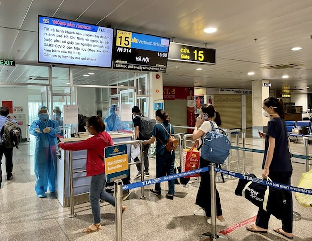 Từ hôm nay, 38 chuyến bay nội địa được hoạt động trở lại.