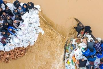 Lũ lụt khiến hơn 1,7 triệu người phải sơ tán ở Trung Quốc