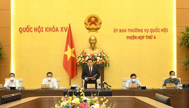 Ủy ban Thường vụ Quốc hội cho ý kiến về cơ chế đặc thù phát triển Hải Phòng, Nghệ An và Thừa Thiên Huế