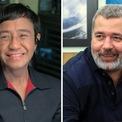 """<p class=""""Normal""""> Giải Nobel Hòa Bình 2021 được trao cho hai nhà báo Maria Ressa (trái) của Philippines và Dmitry Muratov ở Nga cho những nỗ lực bảo vệ tự do ngôn luận, Ủy ban Nobel Hòa bình Na Uy, thông báo ngày 8/10.</p> <p class=""""Normal""""> Ressa và Muratov """"đấu tranh dũng cảm cho tự do ngôn luận ở Philippines và Nga. Đồng thời, họ là đại diện của tất cả nhà báo đứng lên vì lý tưởng này trong một thế giới mà dân chủ và tự do báo chí phải đối mặt với những điều kiện ngày càng bất lợi"""",</p> <p class=""""Normal""""> Ressa là tác giả, đồng sáng lập kiêm CEO của tờ Rappler. Bà là phóng viên điều tra tại khu vực Đông Nam Á cho CNN. Trong khi đó, Muratov là một nhà báo người Nga, tổng biên tập tờ Novaya Gazeta, thường xuyên đưa ra các quan điểm phê bình trên nhiều khía cạnh khác nhau.<span style=""""color:rgb(34,34,34);"""">Ảnh: <em>AP/Reuters.</em></span></p>"""