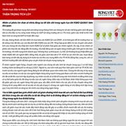 VDSC: Chiến lược đầu tư tháng 10 - Thận trọng tích lũy