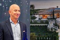 Bên trong dinh thự chỉ thua nhà của tỷ phú Jeff Bezos ở bang có giá đất cao nhất nước Mỹ