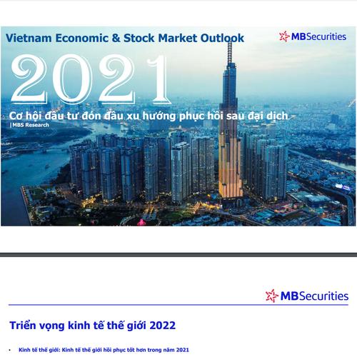 MBS: MBS's Talk 20 - Cơ hội đầu tư đón đầu xu hướng phục hồi sau đại dịch