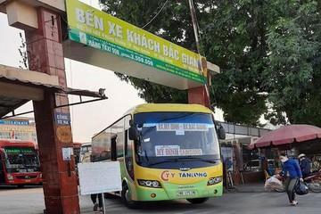 Hôm nay, 6 địa phương mở lại tuyến vận tải hành khách liên tỉnh