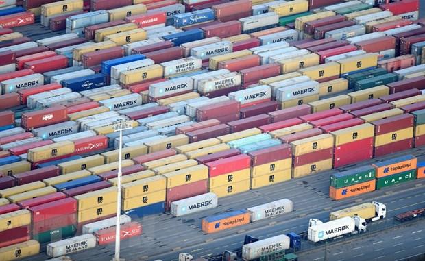 Cảng container ở Hamburg, Đức ngày 14/11/2019. Ảnh: Reuters/TTXVN.