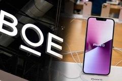 iPhone 13 sẽ dùng màn hình Trung Quốc
