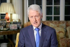 Cựu Tổng thống Mỹ Bill Clinton bất ngờ nhập viện