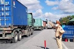 3 loại hình vận tải đường bộ được hoạt động ở vùng dịch nguy cơ rất cao
