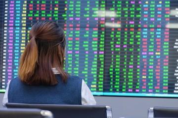 Sắc đỏ áp đảo nhóm vốn hóa lớn, cổ phiếu chứng khoán đồng loạt tăng
