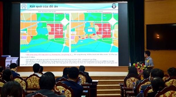 Điều chỉnh cục bộ Quy hoạch chung xây dựng Thủ đô tại huyện Đông Anh để xây dựng dự án Thành phố thông minh