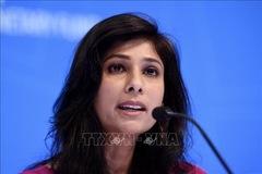 Nữ kinh tế trưởng đầu tiên của IMF rời nhiệm sở