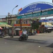 Từ hôm nay, 450 tiểu thương ở chợ Long Biên bán hàng trở lại