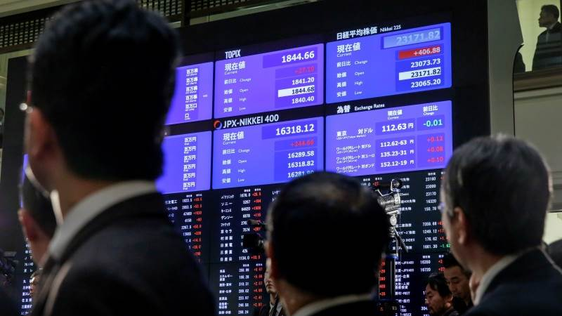 Chứng khoán châu Á hầu hết tăng sau phiên lập đỉnh của S&P 500
