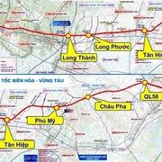 Bà Rịa - Vũng Tàu đề nghị Bộ Giao thông Vận tải là cơ quan có thẩm quyền làm cao tốc Biên Hòa - Vũng Tàu