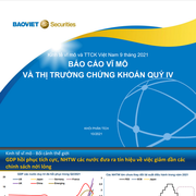 BVSC: Báo cáo vĩ mô và thị trường chứng khoán quý IV
