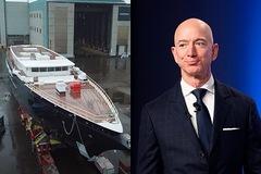Siêu du thuyền nửa tỷ USD, chạy 16.000 km không cần tiếp nhiên liệu của tỷ phú Jeff Bezos
