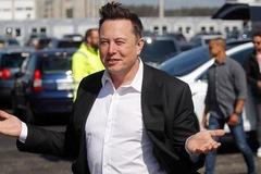 Kiếm được hơn 36 tỷ USD chỉ trong một ngày, tài sản của Elon Musk lớn hơn cả vốn hóa của Nike