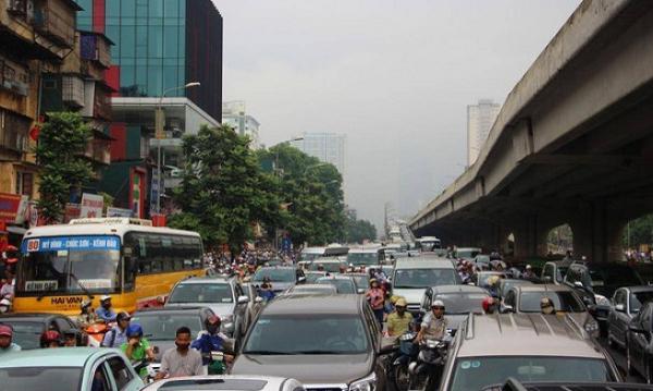 Hà Nội đề xuất lập 87 trạm thu phí phương tiện ôtô vào nội đô để giảm ùn tắc