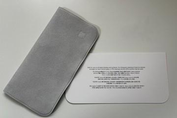 Người mua khăn lau màn hình giá 19 USD của Apple phải chờ đến 2022